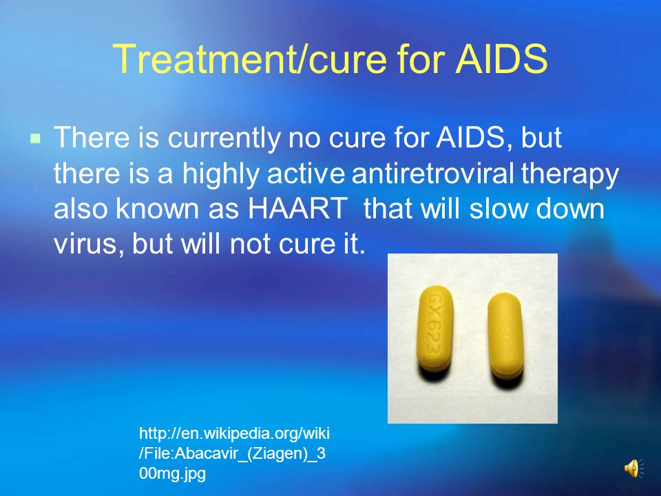 Treatment/cure for AIDS