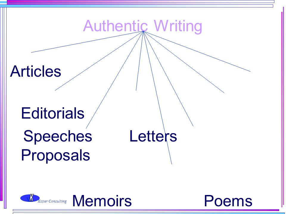 Speeches Letters Proposals