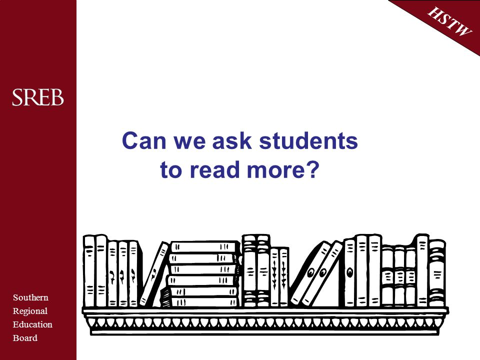 Can we ask students to read more