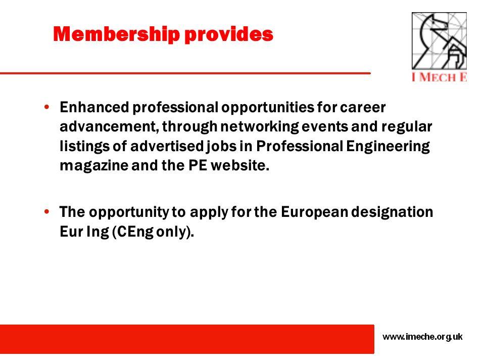Membership provides