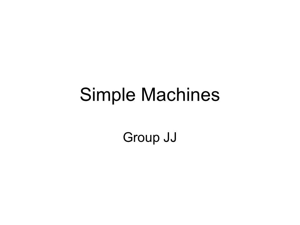 Simple Machines Group JJ