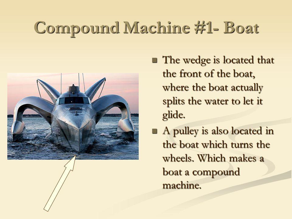 Compound Machine #1- Boat