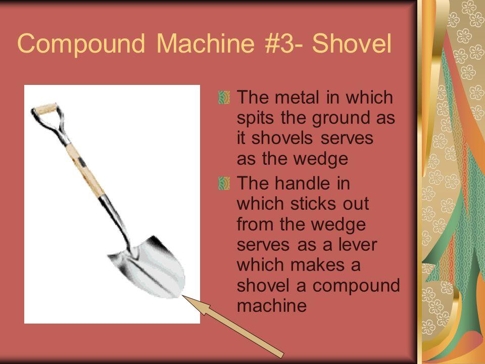 Compound Machine #3- Shovel