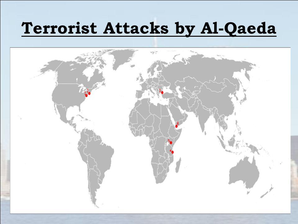 Terrorist Attacks by Al-Qaeda