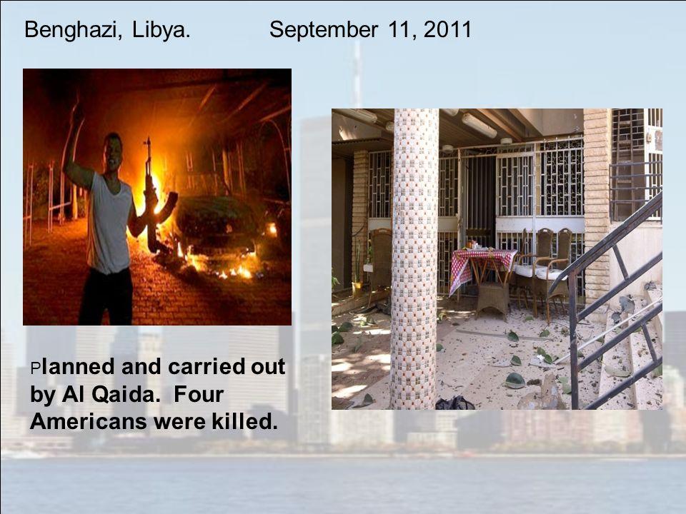 Benghazi, Libya. September 11, 2011
