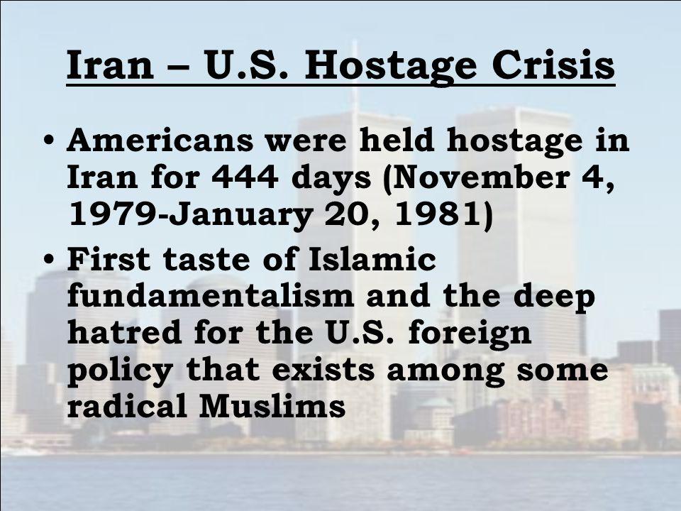 Iran – U.S. Hostage Crisis