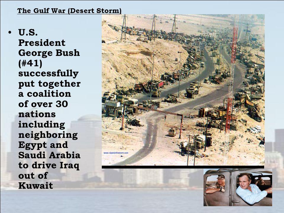 The Gulf War (Desert Storm)