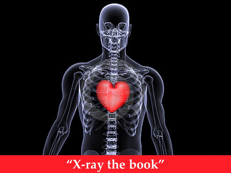 X-ray the book