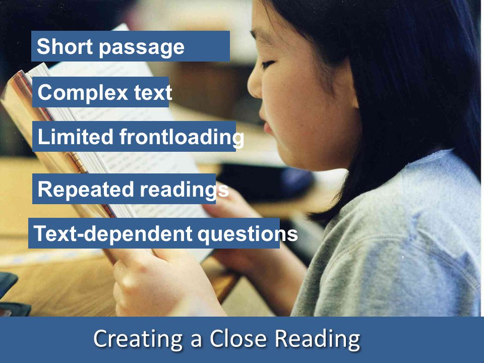 Creating a Close Reading
