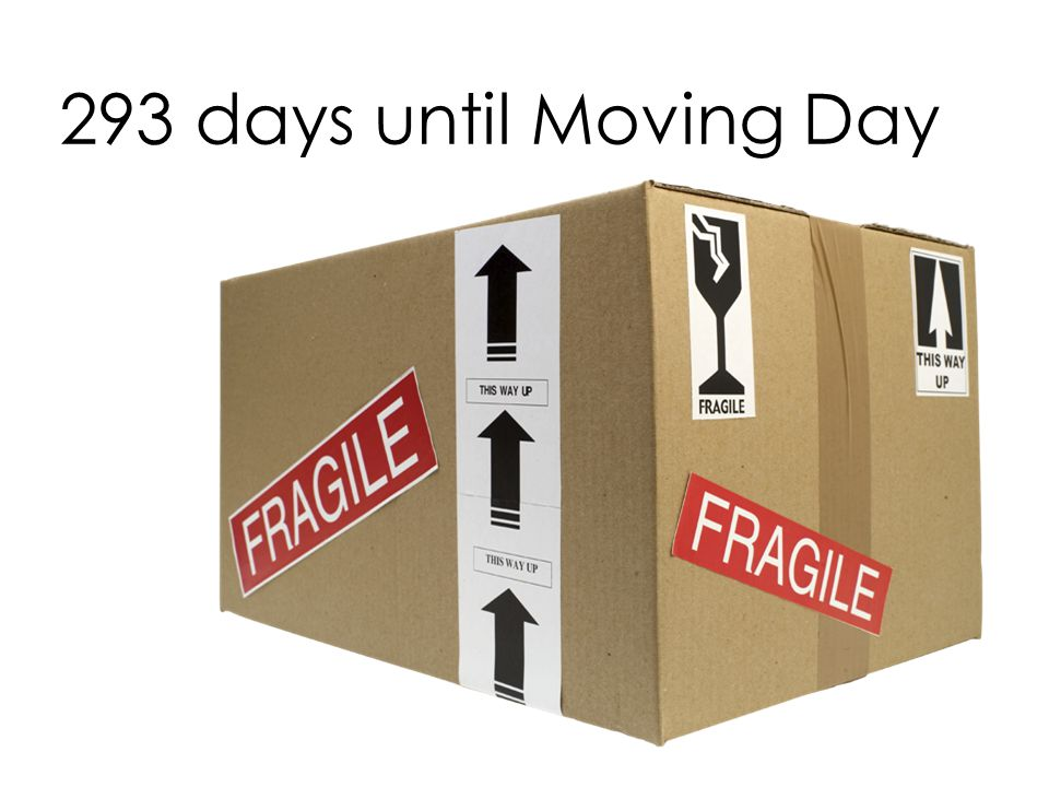 293 days until Moving Day