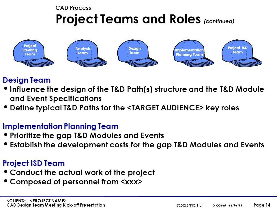 CAD Process Phase 3: Design