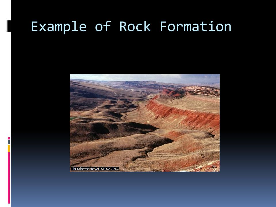 Example of Rock Formation