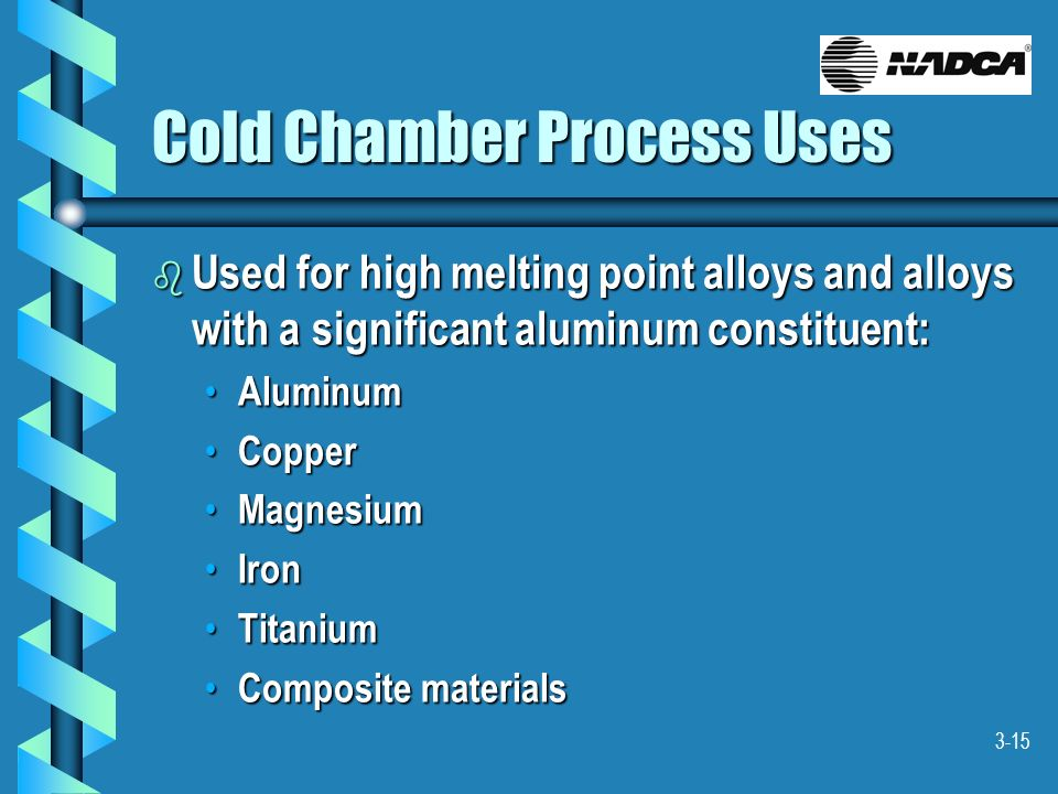 Cold Chamber Process Uses