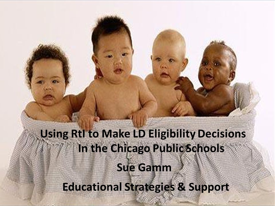 fff Using RtI to Make LD Eligibility Decisions