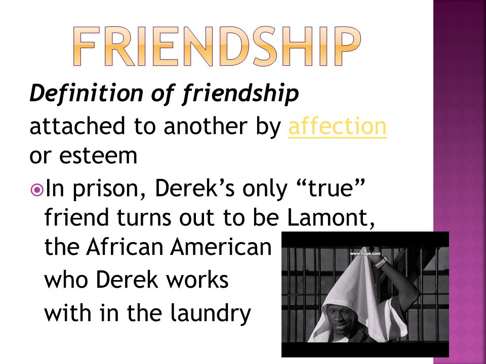 Friendship Definition of friendship
