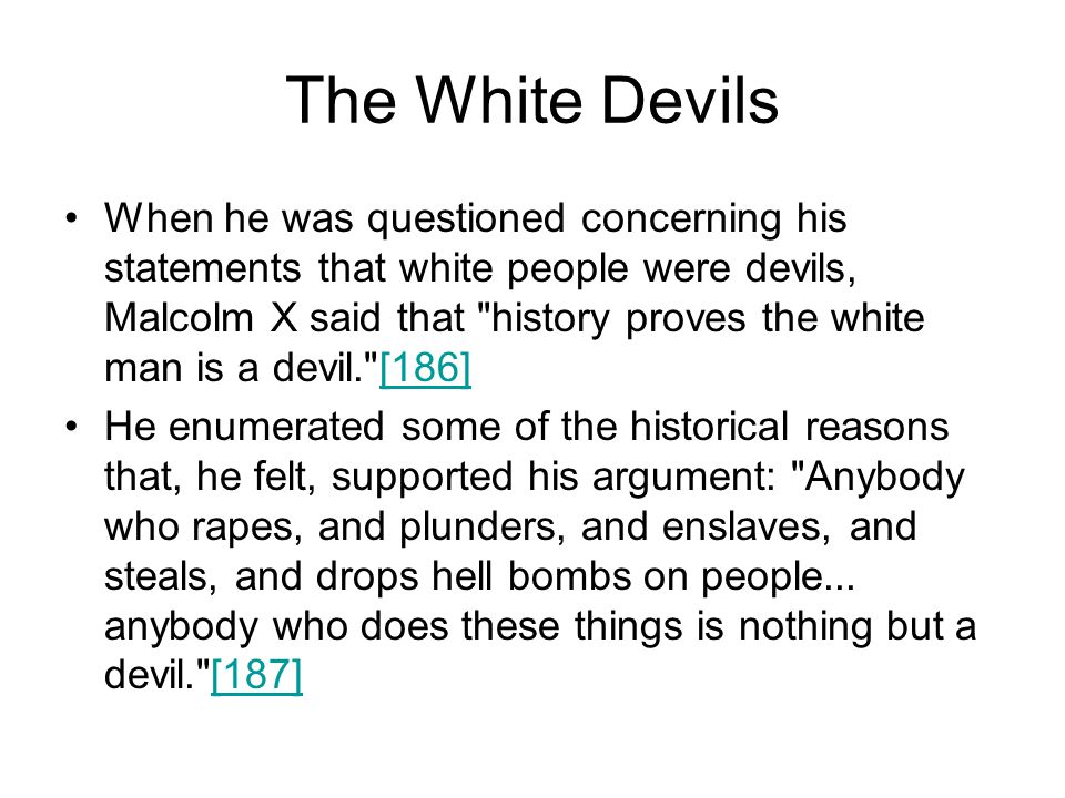 The White Devils