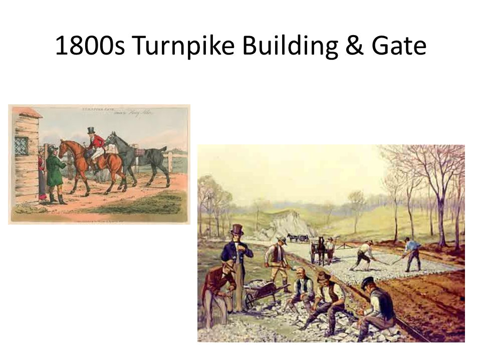 1800s Turnpike Building & Gate