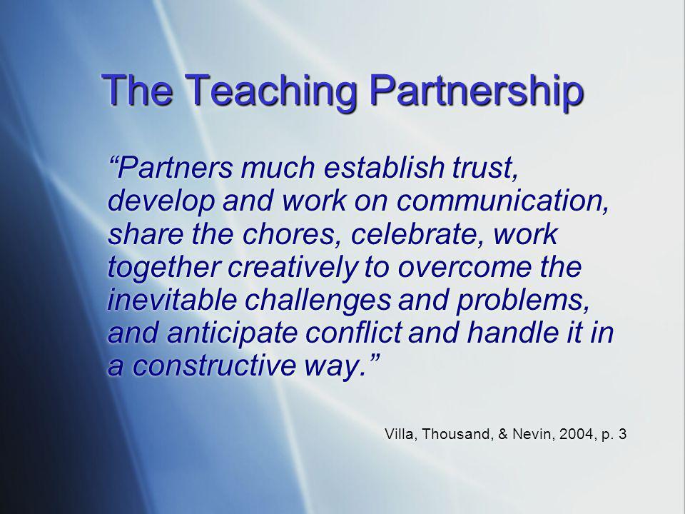 The Teaching Partnership