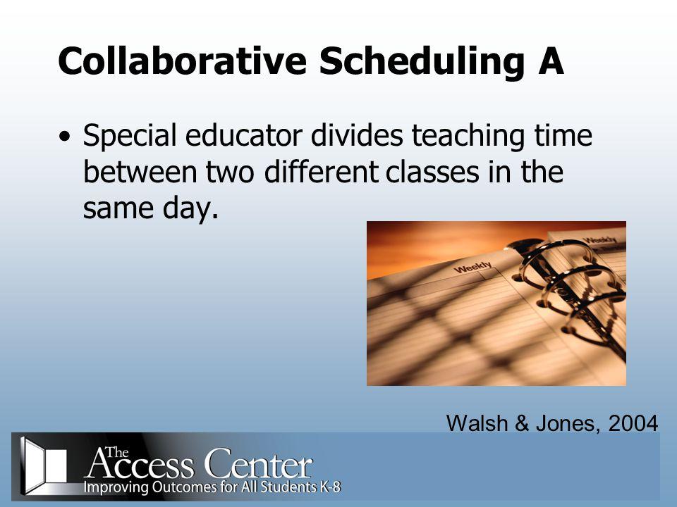 Collaborative Scheduling A