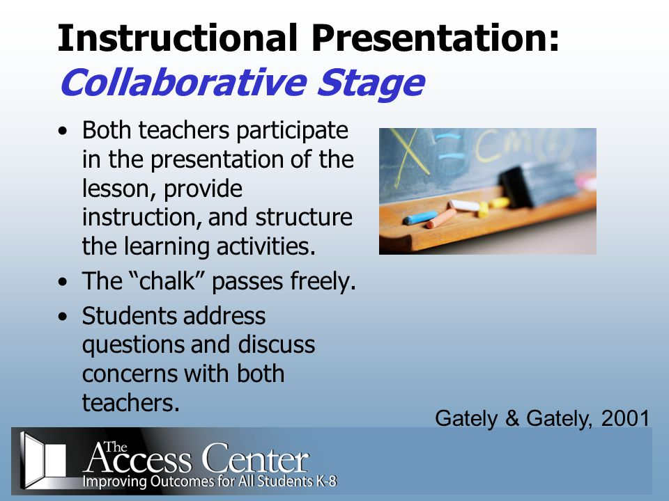Instructional Presentation: Collaborative Stage