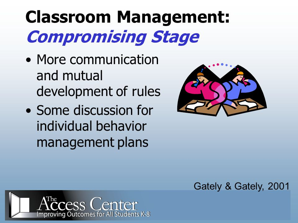 Classroom Management: Compromising Stage