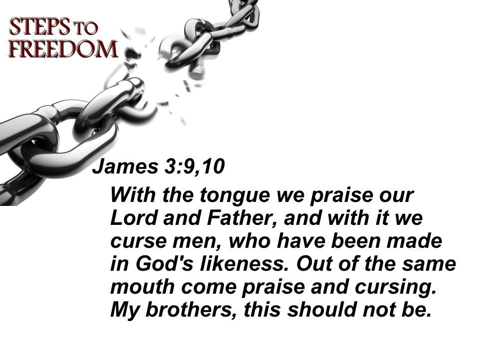 James 3:9,10