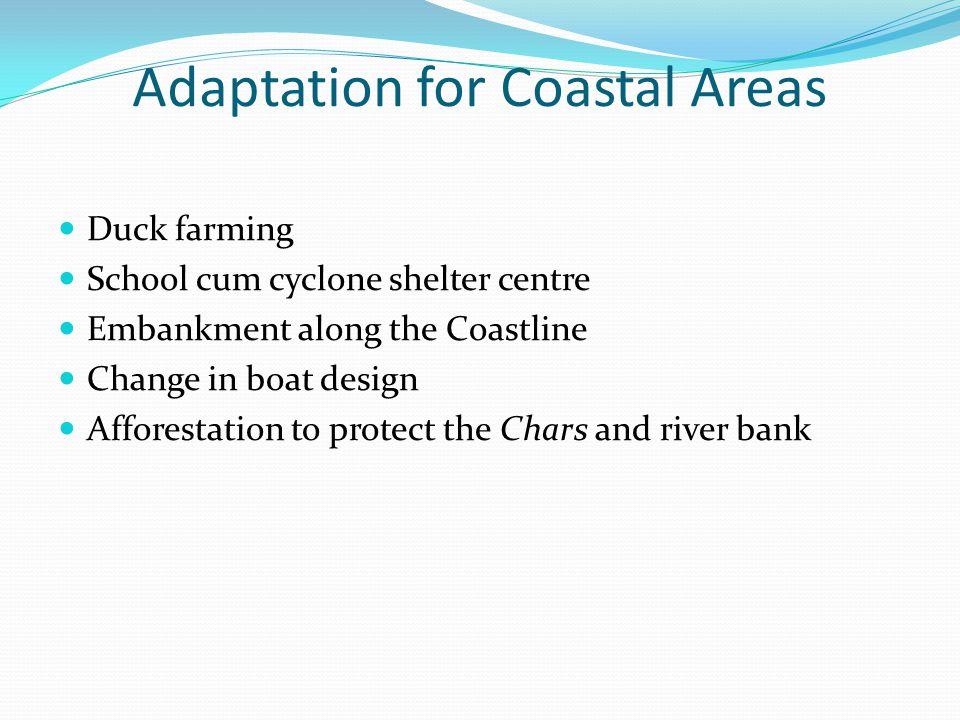 Adaptation for Coastal Areas