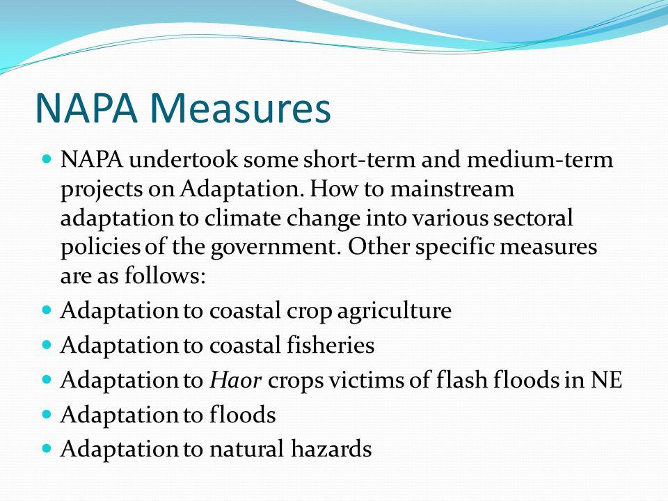 NAPA Measures