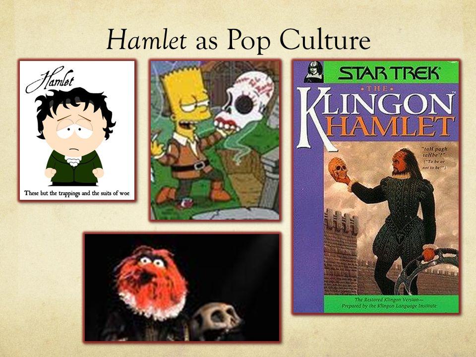 Hamlet as Pop Culture