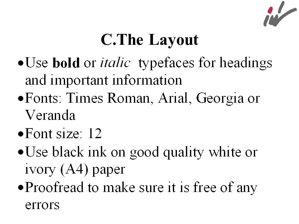 C.The Layout