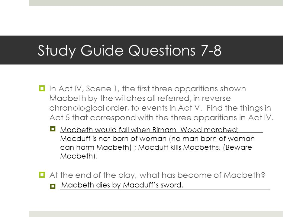 Study Guide Questions 7-8