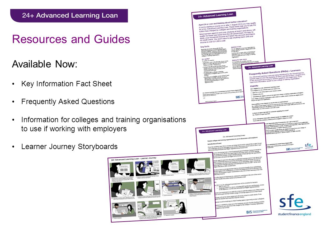 Resources and Guides Available Now: Key Information Fact Sheet