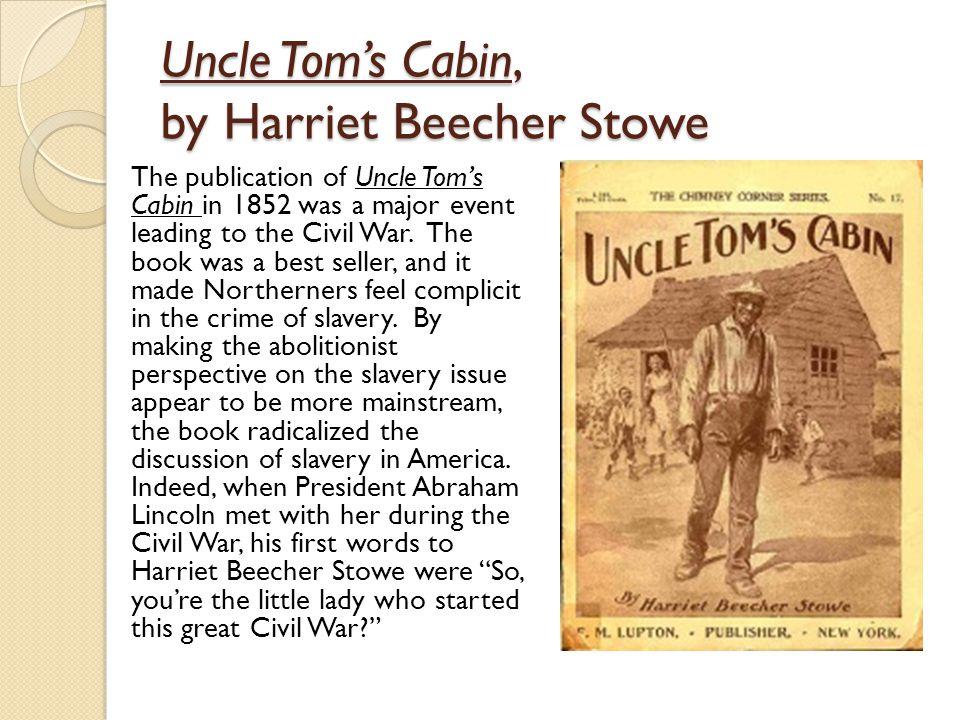 Uncle Tom's Cabin, by Harriet Beecher Stowe