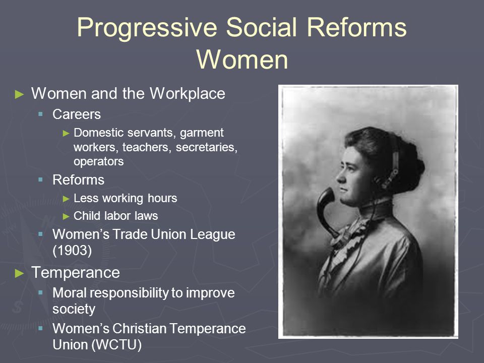 Progressive Social Reforms Women