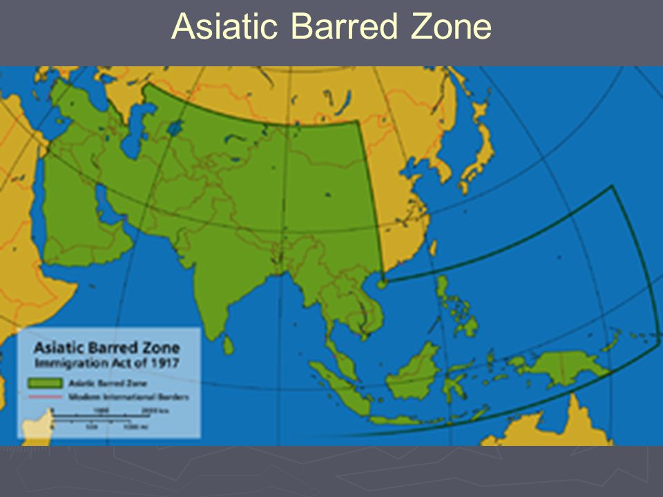 Asiatic Barred Zone