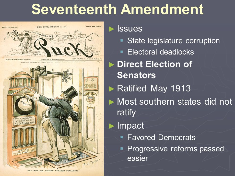 Seventeenth Amendment