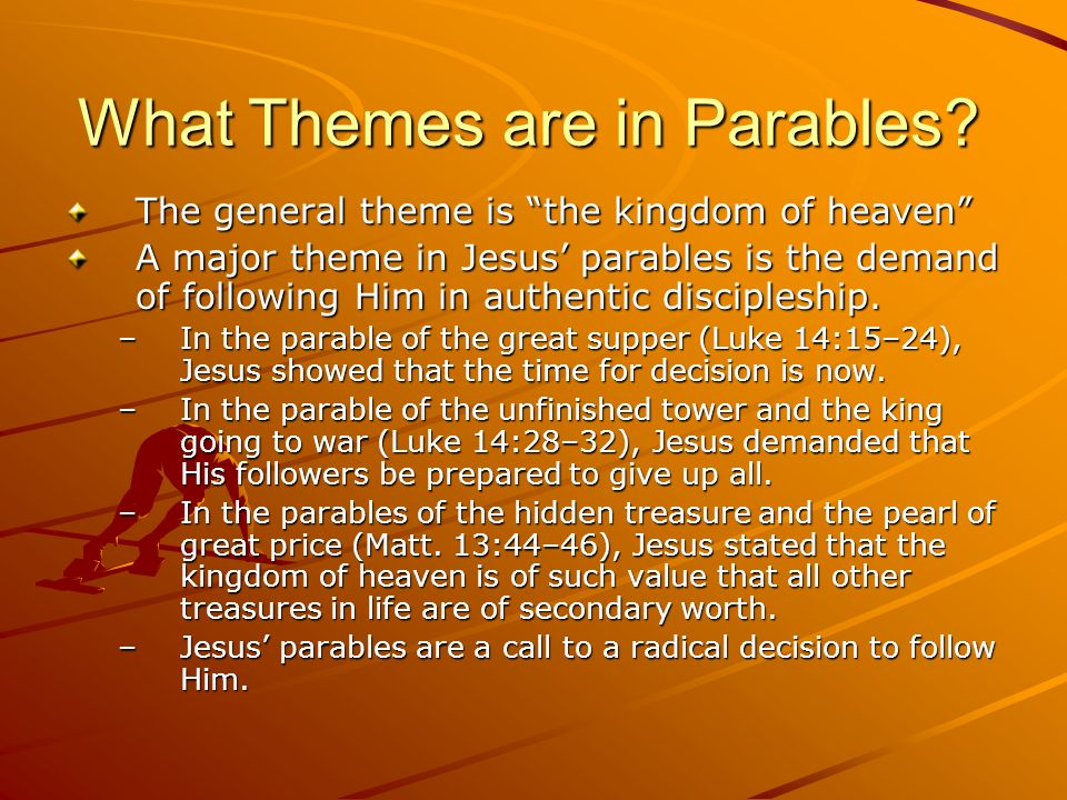 What Themes are in Parables