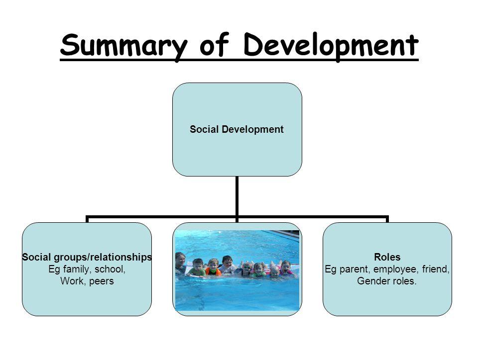 Summary of Development