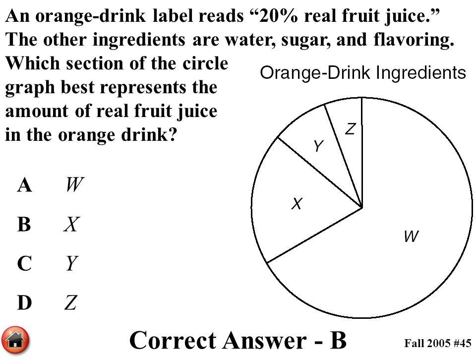 Correct Answer - B A W B X C Y D Z
