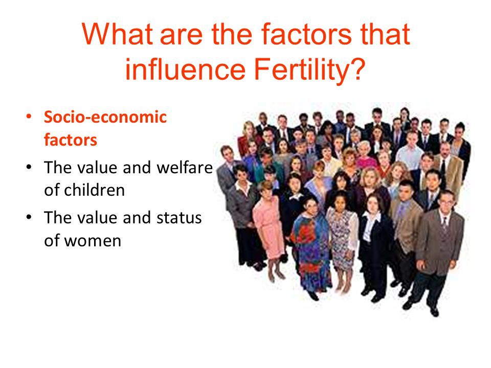 What are the factors that influence Fertility