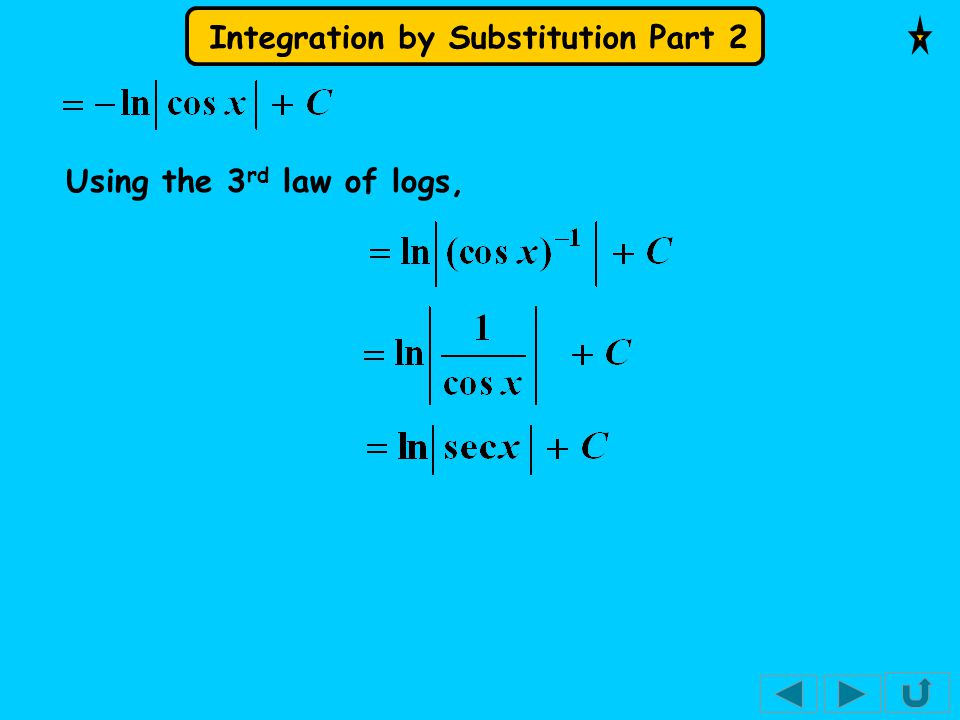 Using the 3rd law of logs,