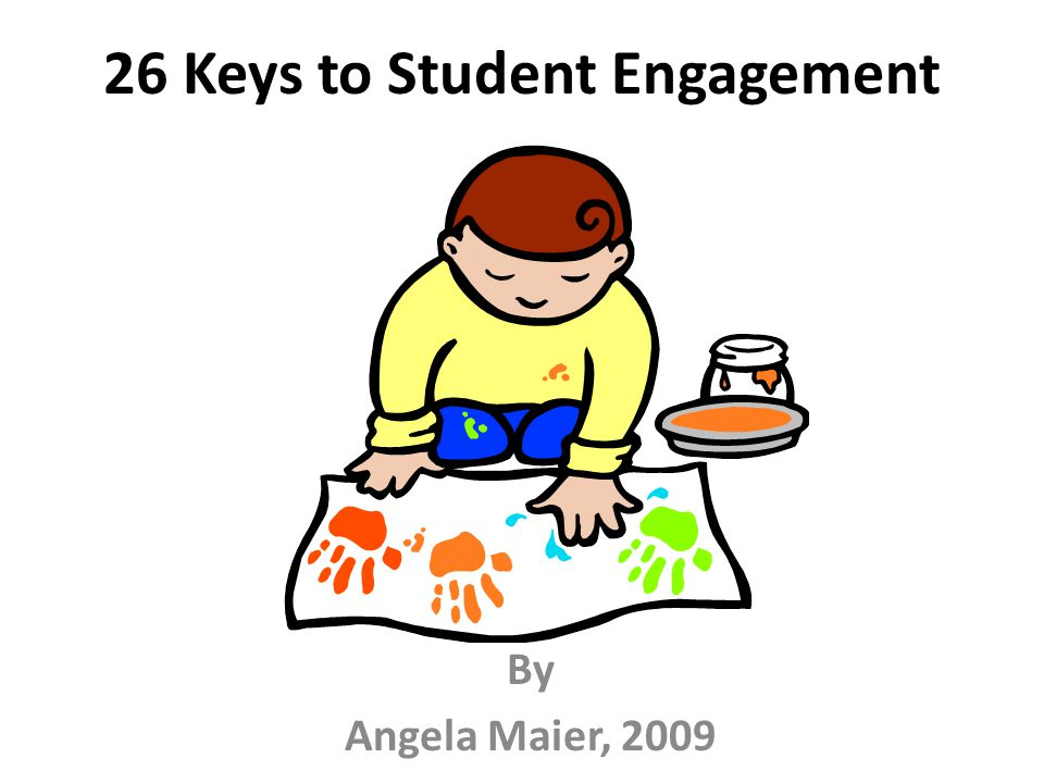 26 Keys to Student Engagement