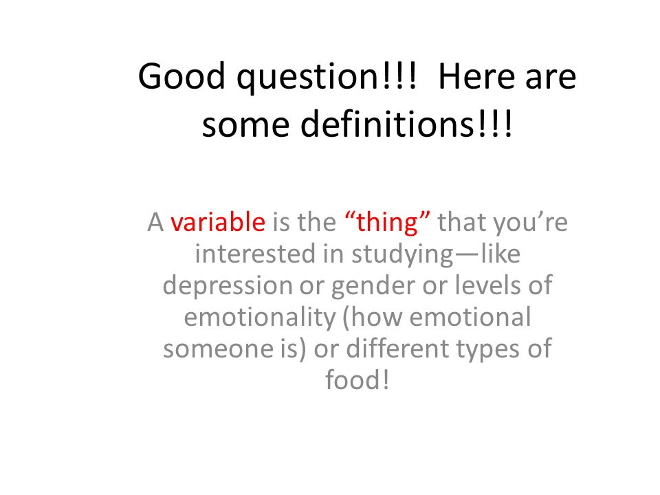 Good question!!! Here are some definitions!!!