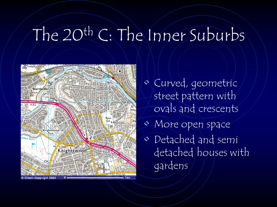 The 20th C: The Inner Suburbs
