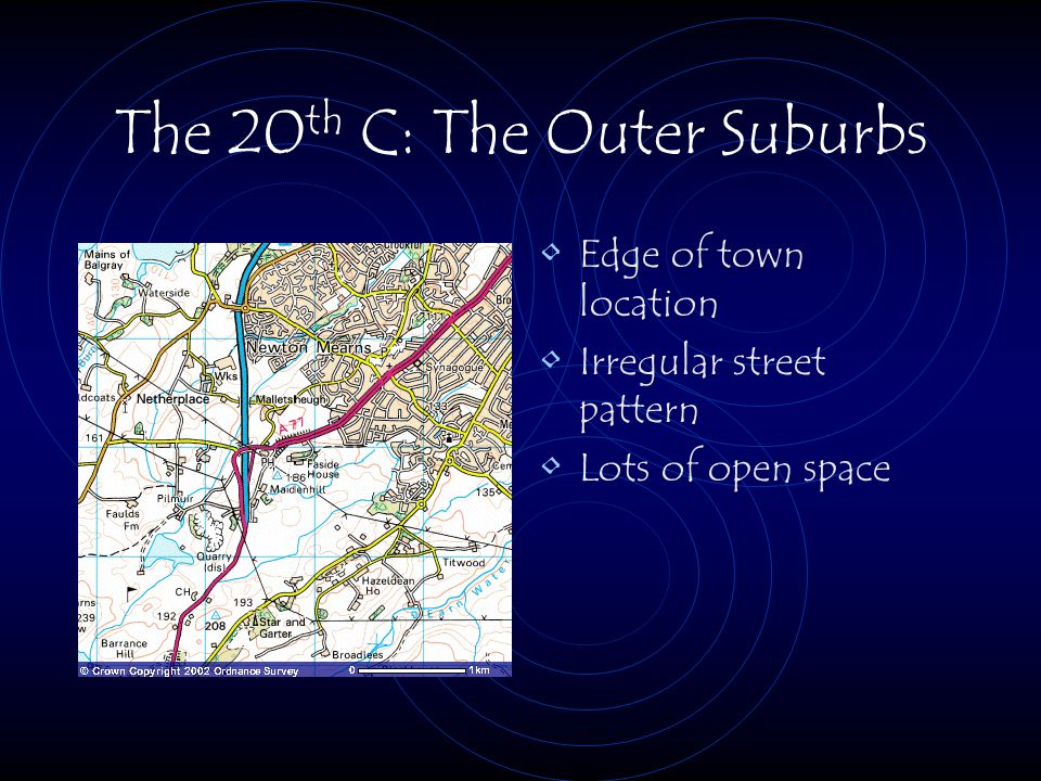 The 20th C: The Outer Suburbs