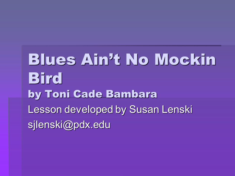 """a story of deprivation in the lesson by toni cade bambara In the paper """"symbolism in the lesson by toni cade bambara"""" the author  discusses a factious short story by toni cade bambara written in  lesson"""" by  toni cade bambara depicts the lives of the children who are leading a poverty  stricken."""