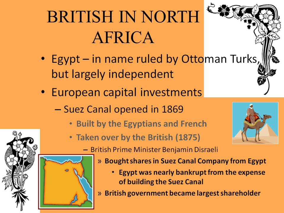 BRITISH IN NORTH AFRICA