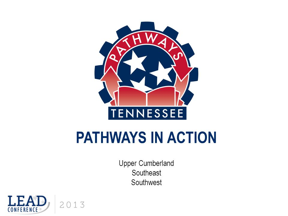 PATHWAYS IN ACTION Upper Cumberland Southeast Southwest