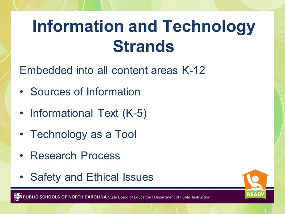 Information and Technology Strands