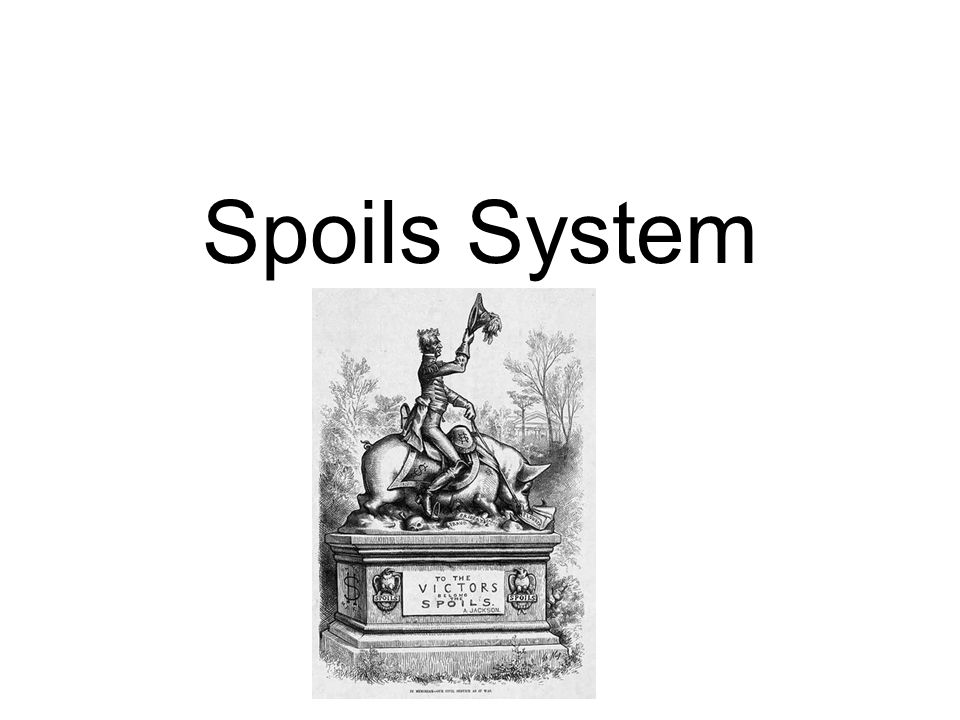 the spoils system The pendleton civil service reform act - wikipedia (1883) ended the spoils system in the united states the pendleton act is regarded as the first big step the united states took towards ending the spoils system the act required bureaucratic appo.